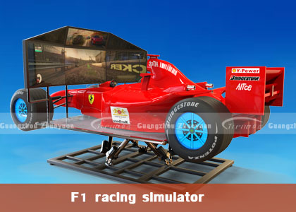 F1 racing simulator