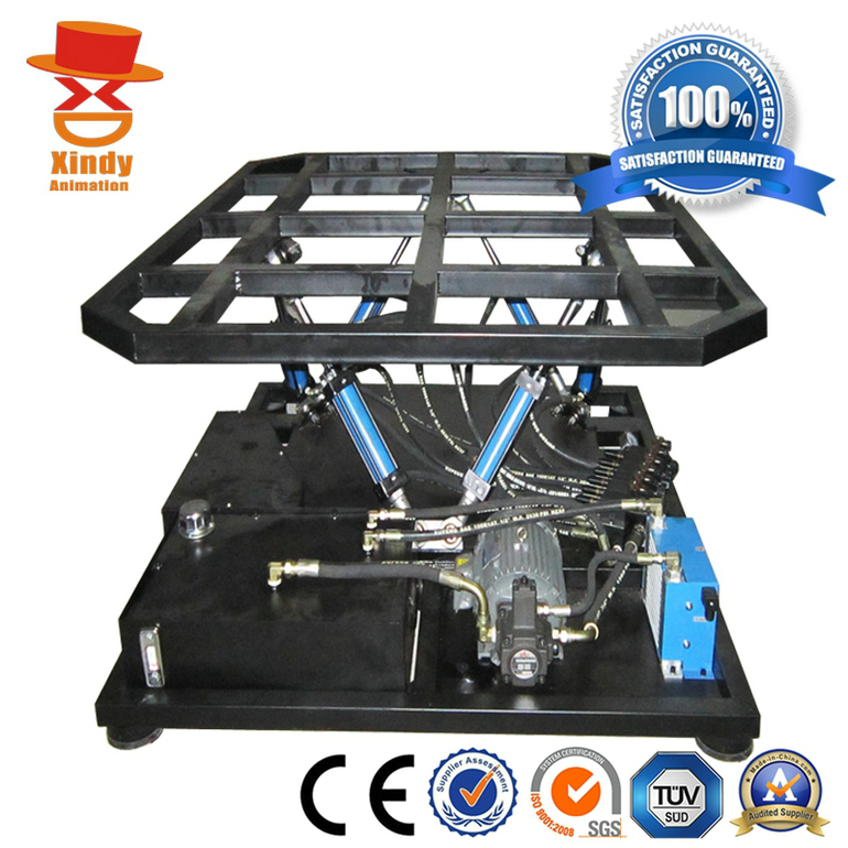 Hydraulic 5d cinema System Platform simulator equipment