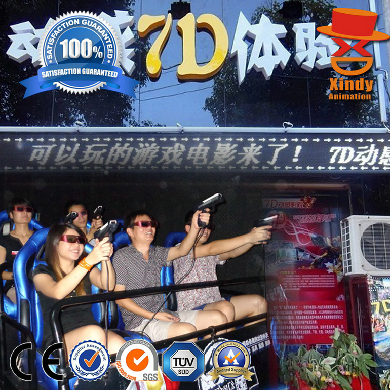 Simulation ride 7d cinema system,Interactive 7d cinema equipment