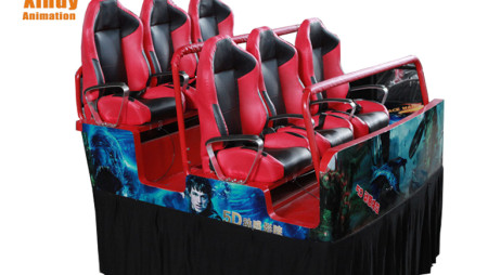 Hydraulic 4D Cinema System With Luxury 6 Seats