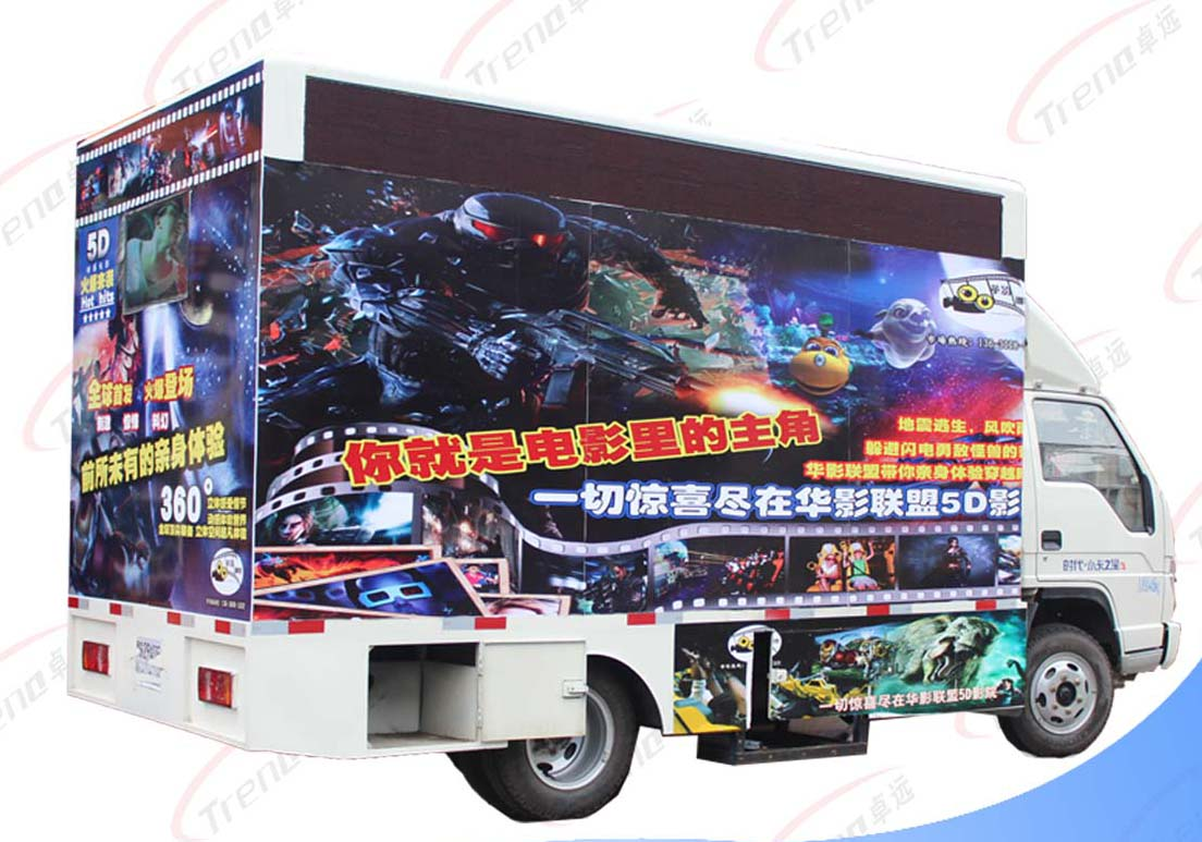 What are the Advantages of Truck Mobile 5d Cinema