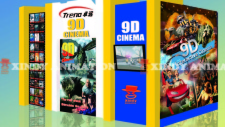 Hydraulic System 9d Cinema Box Cabin