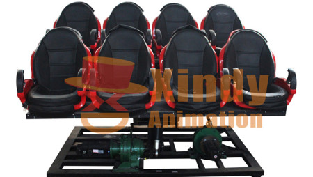 Electric 5D Cinema With 8 Seats