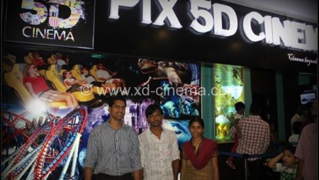 India 5D Cinema Projects