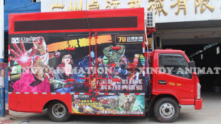 Hydraulic Truck Mobile 9d Cinema