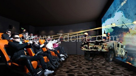 7d Cinema Equipment Freedom and Flexibility