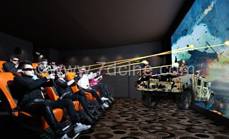 7d Cinema Equipment