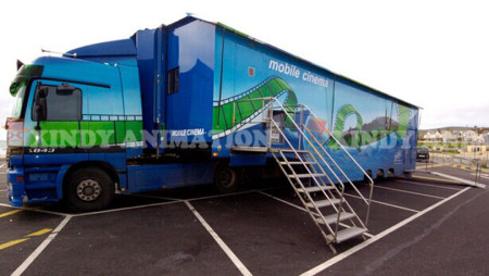 Hot Sale  Truck Mobile 7D Cinema