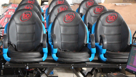 5D Dynamic Seat System Functions and Parameters