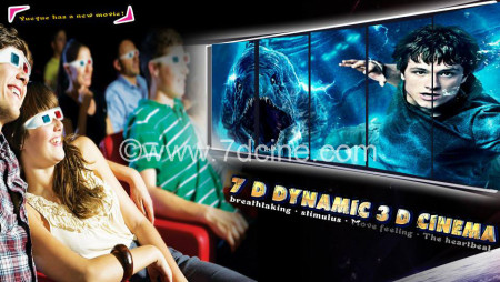 Share Magical Experience for 5d Dynamic Cinema