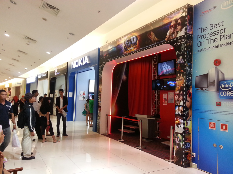 6d cinema project in Malaysia outlet