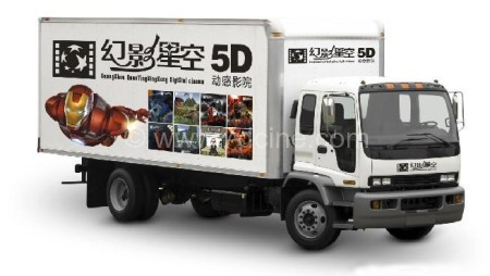 5D Dynamic Movie Equipment 5D Movie Car?