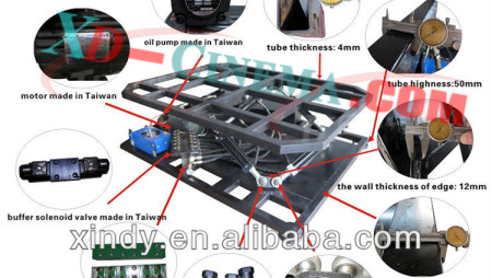 Zhuoyuan 5D Hydraulic Equipment Description