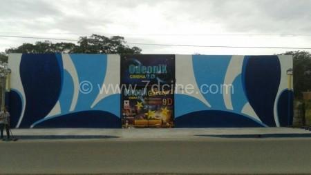 Hydraulic System 9 Seats 5D Cinema in Garzón Huila Colombia