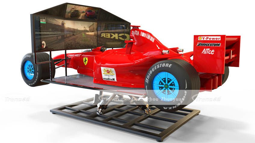 So Crazy Zhuoyuan F1 Racing Car Simulator Xindy Animation Inc