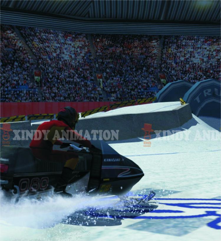 Sled Race 4d 5d 6d cinema movies