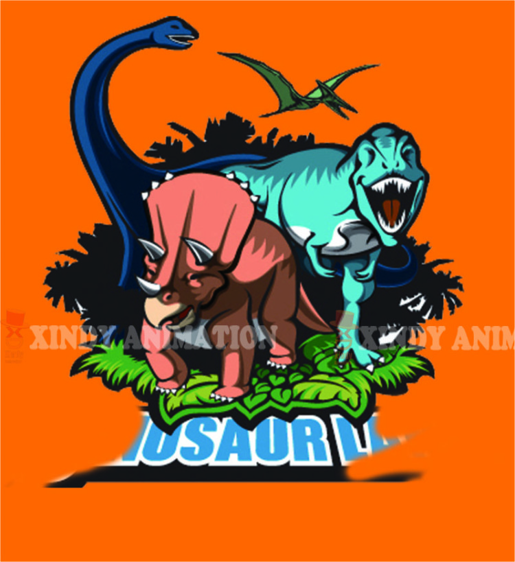 Through Dinosaur Valley 4d 5d 6d cinema movies