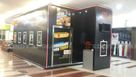 Xindy 9D Interactive Cinema in Colombia