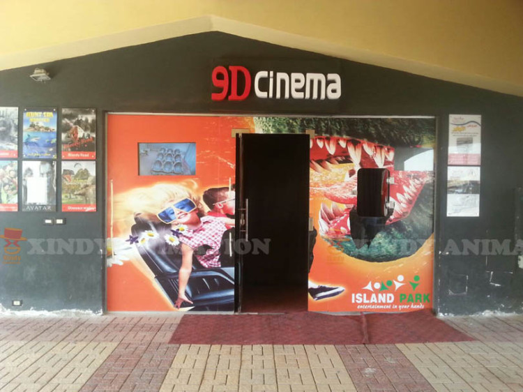 Xindy 9D Interactive Cinema in Egypt