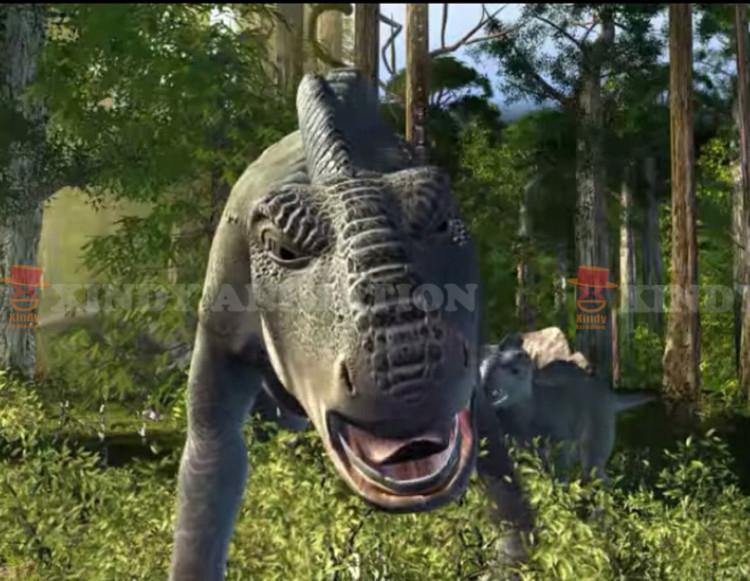 Prehistoric Adventure 4d 5d 6d cinema movies
