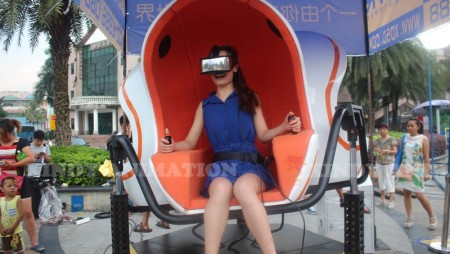 Have you ever experience the Xindy 9D Virtual Reality Simulator?
