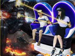 Xindy new products 9D Virtual Reality of double seats