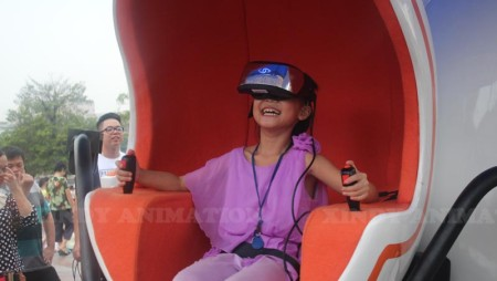 Xindy 9D Virtual Reality is the focus of attention all along