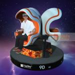 Xindy fashionable 9D Virtual Reality Simulator of Three Seats