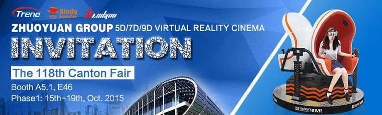 9d virtual reality Canton fair
