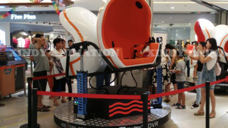 Special design 9d virtual reality in shopping mall