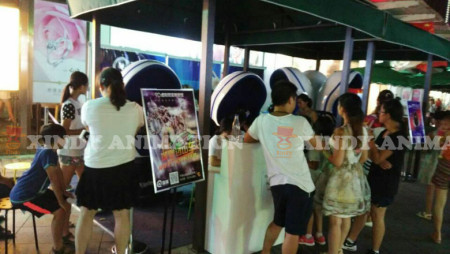 Xindy new technology 9d vr in walking street