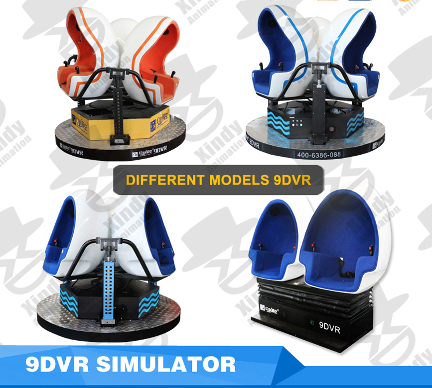 More style 9d VR seats for you to choose