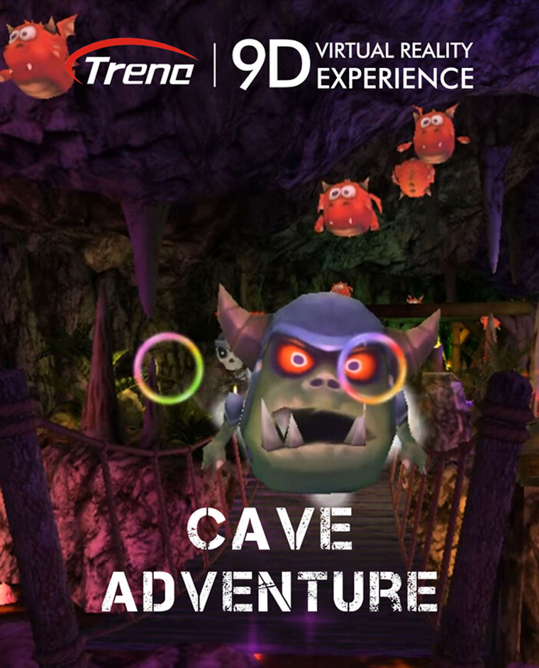 CAVE ADVENTURE-virtual reality film