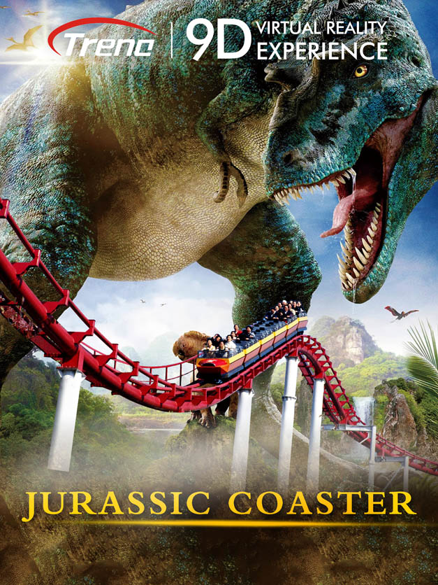 JURASSIC COASTER - virtual reality film