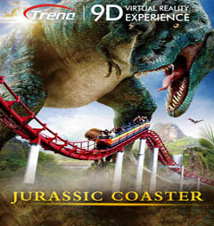 JURASSIC COASTER – virtual reality film