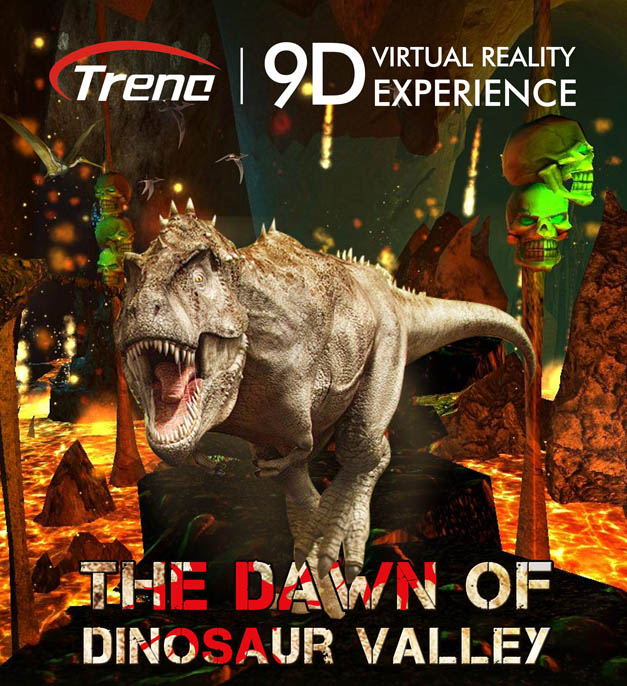 THE DAWN OF DINOSAUR VALLEY- virtual reality film