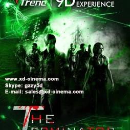 The Terminator-9d vr film