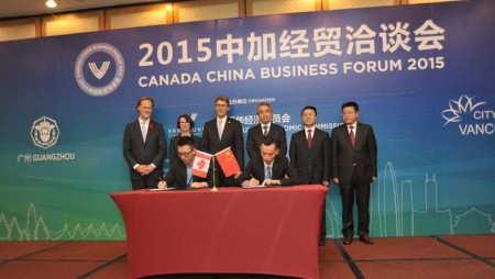 Xindy is the only VR manufacture which was invited to the CANADA CHINA BUSINESS FORUM
