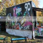 Xindy popular 9d mobile cabin cinema in Moldova
