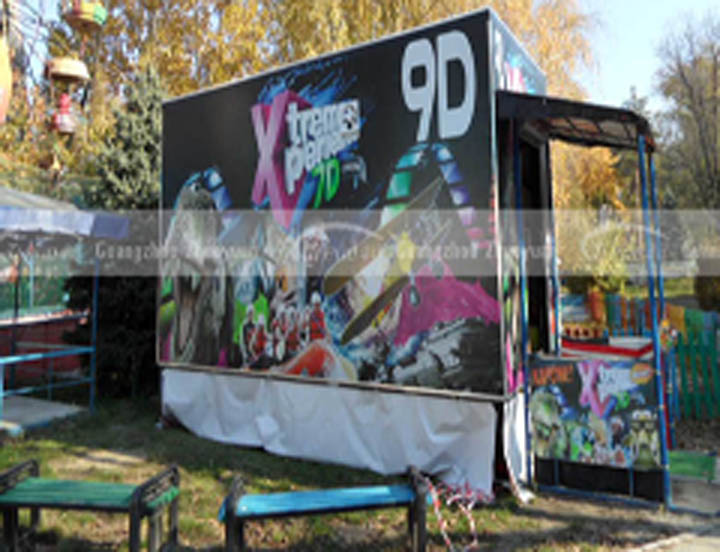 Xindy popular 9d mobile cabin cinema in Moldova