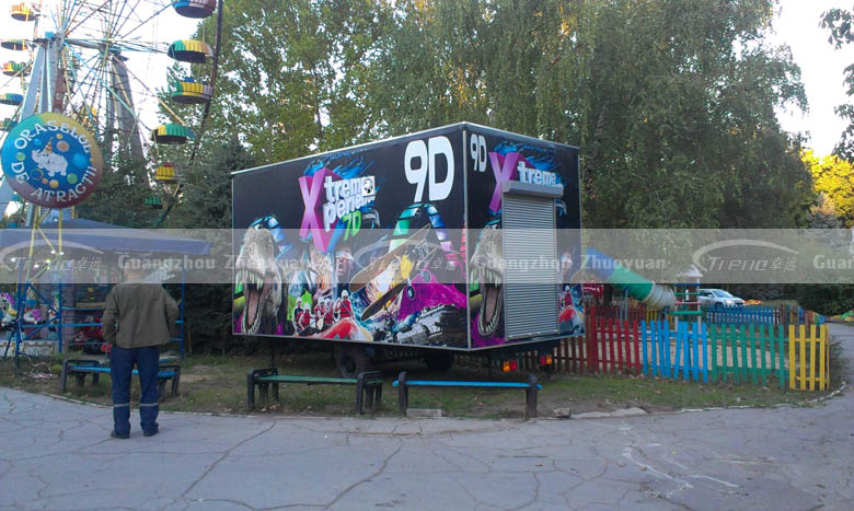 Xindy popular 9d mobile cabin cinema in Moldova (3)