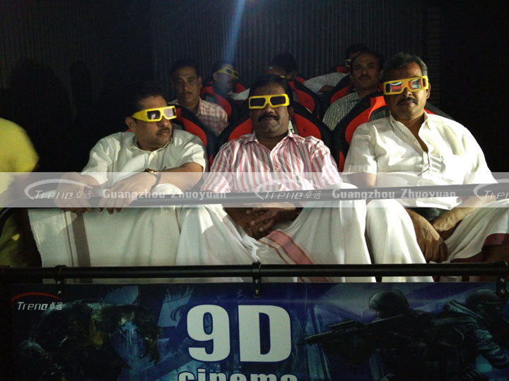 Xindy high return 5d theater in India (1)