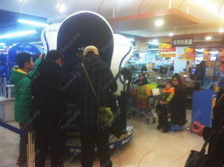 Xindy new products reliable vr simulator in supermarket (1)