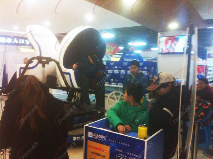 Xindy new products reliable vr simulator in supermarket (3)