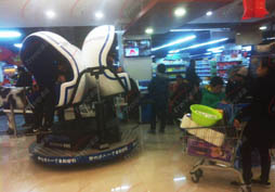 Xindy new products reliable vr simulator in supermarket