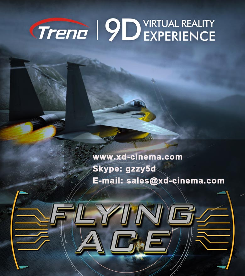 Flying Ace is a virtual reality movie