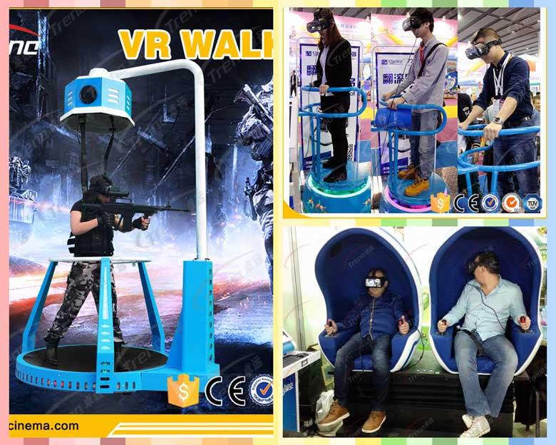 Xindy Virtual Reality Simulator Treadmill will be shown in Global Sources Electronics (2)