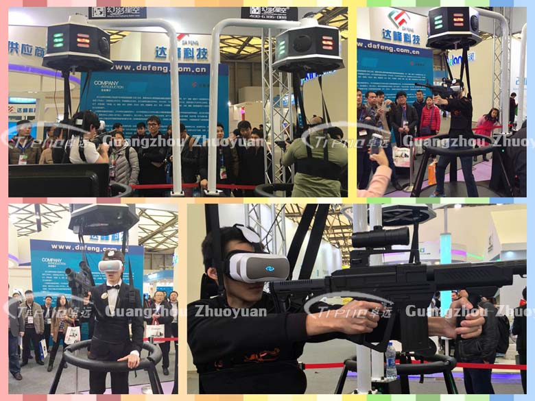 Xindy vr devices become the center of attraction in AAA Expo and AWE Expo (1)