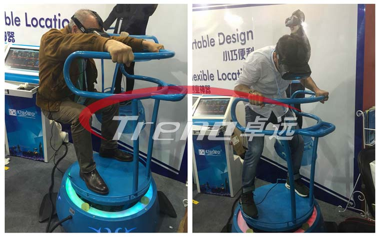 Vibrating VR and VR Walker are the most popular products in Canton Fair (1)
