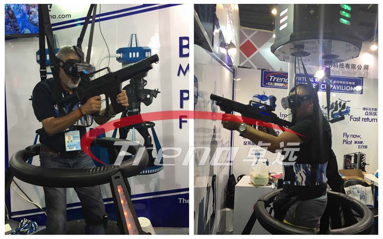 Vibrating VR and VR Walker are the most popular products in Canton Fair (2)